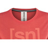 super.natural Essential I.D. Maglietta a maniche corte Donna rosso